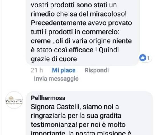 La testimonianza di Grazia Castelli